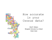 How accurate is your census data – IGNITE 2018